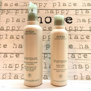 [Aveda] Shampure Set—Lotion & Hand/Body Wash